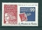 """3127 ** """"Philexfrance 99"""" . Cote 1,40€  (sous Faciale) - France"""