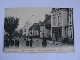 CPA  61  La Perrière La Place Route De Chemilly 1909   TBE - Unclassified