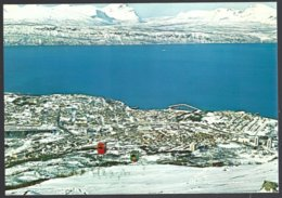 PC  AUNE F-8308-7- Norway, Narvik View Of The Town From Mount Fagernesfjellet.  Unused - Norvège