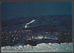 PC  AUNE F-1260-3- Norway, Narvik The Town By Night.  Unused - Norvège