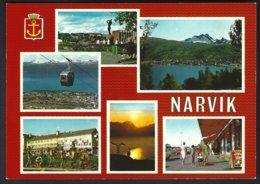PC  AUNE F-5182-1- Norway, Narvik Multiviews .  Unused - Norvège