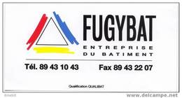 Autocollant  FUGYBAT - PFASTATT HAUT RHIN - Autocollants