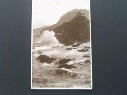 1930 Rough Sea , Lantern Hill, Ilfracombe,  Black & White Postcard - Ilfracombe