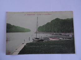 CPA  78 VERSAILLES Le Parc Et Le Grand Bassin 19..   TBE - Versailles (Château)