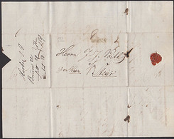 Mähren Altbrief  1832 BRÜNN Nach Steyer Rötelvermerk - Böhmen Und Mähren