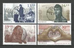 Norway 2014 Constitution Bicentenary Central Cancel Y.T. 1802/1805 (0) - Gebruikt