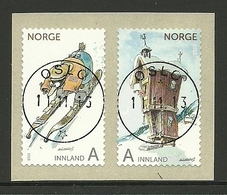 Norway 2013 Christmas Pair Central Cancel Y.T. 1785/1786 (0) - Gebruikt