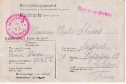 Cart De Prisisonier De Guerre, Stalag I A 8Stablack) Par Soissens (Arone) - Marcophilie (Lettres)