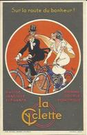 LA CYCLETTE , Sur La Route Du Bonheur ! , Illustrateur : MICH , Voir Scans - Mich