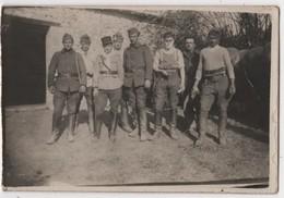 Carte Photo 30 BEZOUCE Militaria Groupe Cavaliers Chevaux - Sonstige Gemeinden