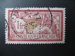 Perforé  Perfin  Référence Ancoper France  :    CL208 - France