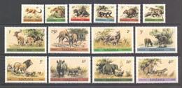 Tanzania Scott 161/174 - SG307/320, 1980 Wildlife Set MNH** - Tanzanie (1964-...)
