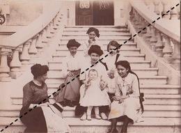 Photo 1911 Annonay Ardèche Famille Chevalier - Orte