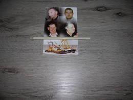 """Bidprentje Bemanning N.52""""Sea Hunter""""(Oostende)1998;Salliau;Vandewoude;Le Louarn    ; Visserij - Images Religieuses"""