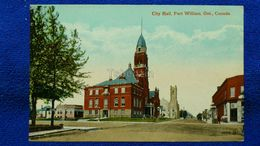 City Hall Fort William Ont. Canada - Ontario