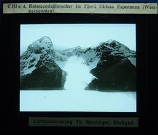 BALMACEDAGLETSCHER IM FJORD ULTIMA ESPERANZA (WEST-PATAGONIEN) - AMÉRIQUE DU SUD - Diapositivas De Vidrio