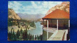 Bow River Valley Banff Canada - Banff