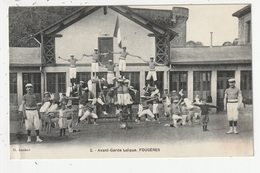 FOUGERES - AVANT GARDE LAIQUE - GYMNASTIQUE - 35 - Fougeres
