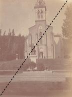 Photo 1900 église à Hauterives Drôme - Lieux