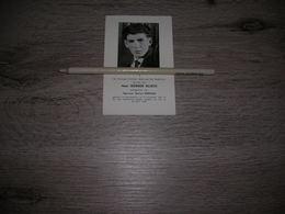 Bidprentje Werner Blieck (Ramskapelle 1941-vergaan Op Zee 1965);Boerjan    -   Visserij - Images Religieuses