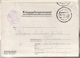 Correspondance Des Prisisonier De Guerre, Stalag III C (Alt Drewitz) Par Wimereux (Pas De Calais - Marcophilie (Lettres)