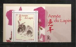 France, Yvert, 4531, Neuf **, TTB, Année Lunaire Chinoise, Année Du Lapin - Francia
