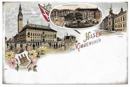 Hilsebn Fra Kjöbenhavn Gruss Aus - Dänemark