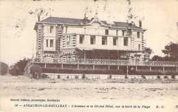 33 GIRONDE Avenue Et Grand Hôtel Sur Le Bord De La Plage à ARCACHON Le MOULLEAU - Arcachon