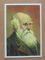 Gutermann (8,7 Cm X  6cm) Personnages Célèbres Charles Darwin /21/ - Cromo