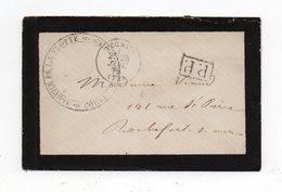 !!! PRIX FIXE : LETTRE EN FRANCHISE PP SERVICE DE LA FLOTTE, CORRESP D'ARMEES 1871 - Poststempel (Briefe)