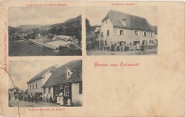 Carte Gruss Aus Sulzmatt Soulzmatt 1918 - Autres Communes