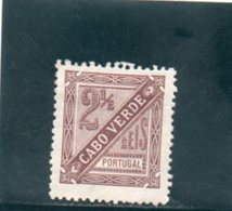 CAP VERT 1893-4 * DENT 12.5 - Islas De Cabo Verde
