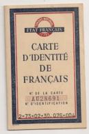 1944 CARTE D'IDENTITE DE FRANCAIS / ETAT FRANCAIS    C79 - Documents Historiques