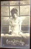 Cpa, Publicité Chicorée Protez-Delâtre-CAMBRAI (59,Nord), Fantaisie Vive La Sainte Anne, Série 199, Victoire, Non écrite - Reclame