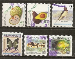 Philippines 2015 Fruits Etc Obl - Filippijnen