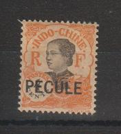 Indochine 103 Surcharge Pecule Utilisation Fiscale Gomme Coloniale ** MNH - Unused Stamps