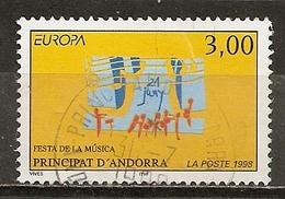 Andorra 1998 Europa Obl - Usados