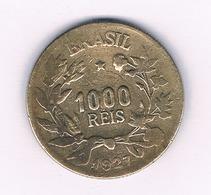 1000 REIS  1927 BRAZILIE /1557/ - Brazilië