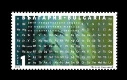 Bulgaria 2019 Mih. 5430 Chemistry. International Year Of The Periodic Table. Dmitri Mendeleev MNH ** - Bulgaria