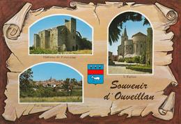 11 OUVEILLAN -   - 3 VUES SUR PARCHEMIN - BLASON - France