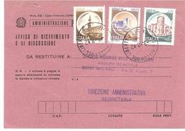 ANNULLO MILANO 2 PIAZZA DEL LIBERTY - 1981-90: Poststempel