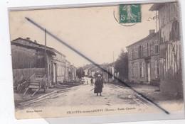 Villotte Devant Louppy (55) Partie Centrale (Femme Avec Une Hotte De Bois) - Unclassified