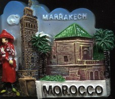 MAGNET MAROC MARRAKECH - Magnets