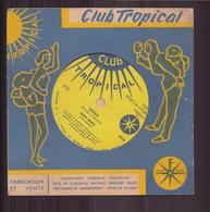 """Disque Souple Dans Son Enveloppe  Club Tropical """" Vénus """" Par Dany Revel - Formats Spéciaux"""
