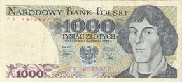 1000 ZLOTYCH BANKNOTE, Umlaufschein - Pologne