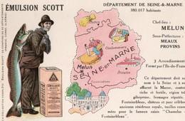 Cartes Postales > Thèmes > Non Classés Emulsion Scott Seine Et Marne Melun - Cartes Postales