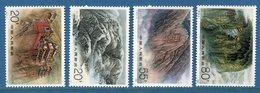 Chine - YT N° 3069 à 3072 - Neuf Sans Charnière - 1991 - 1949 - ... People's Republic