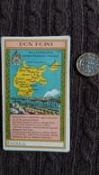 BON POINT ECOLE DE ALLEMAGNE PRUSSE CONTOUR GEOGRAPHIQUE L URBAINE CAPITALISATION FORMAT 6.3 PAR 10.7 CM - Vieux Papiers