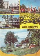 WEGORZEWO - Karte 6 Fach Frankiert - Pologne