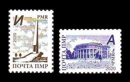 Moldova (Transnistria) 2020 #931/32 Definitive Issue MNH ** - Moldova